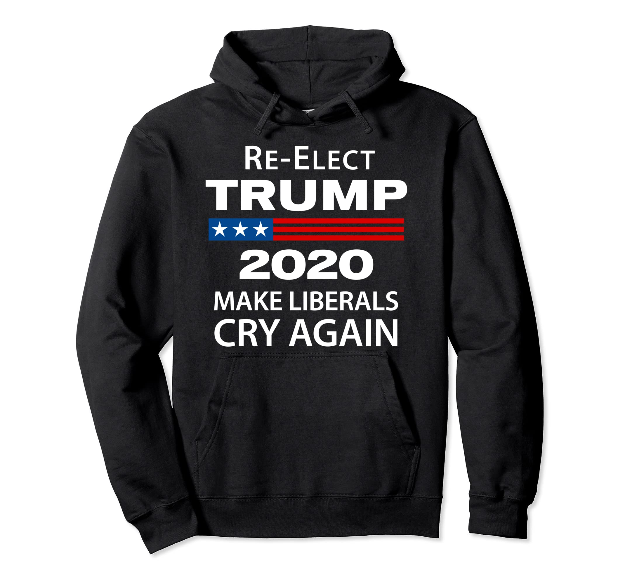 Best Mens Sweatshirts 2020 Amazon.com: Donald Trump 2020 Make Liberals Cry Again Mens Hoodie