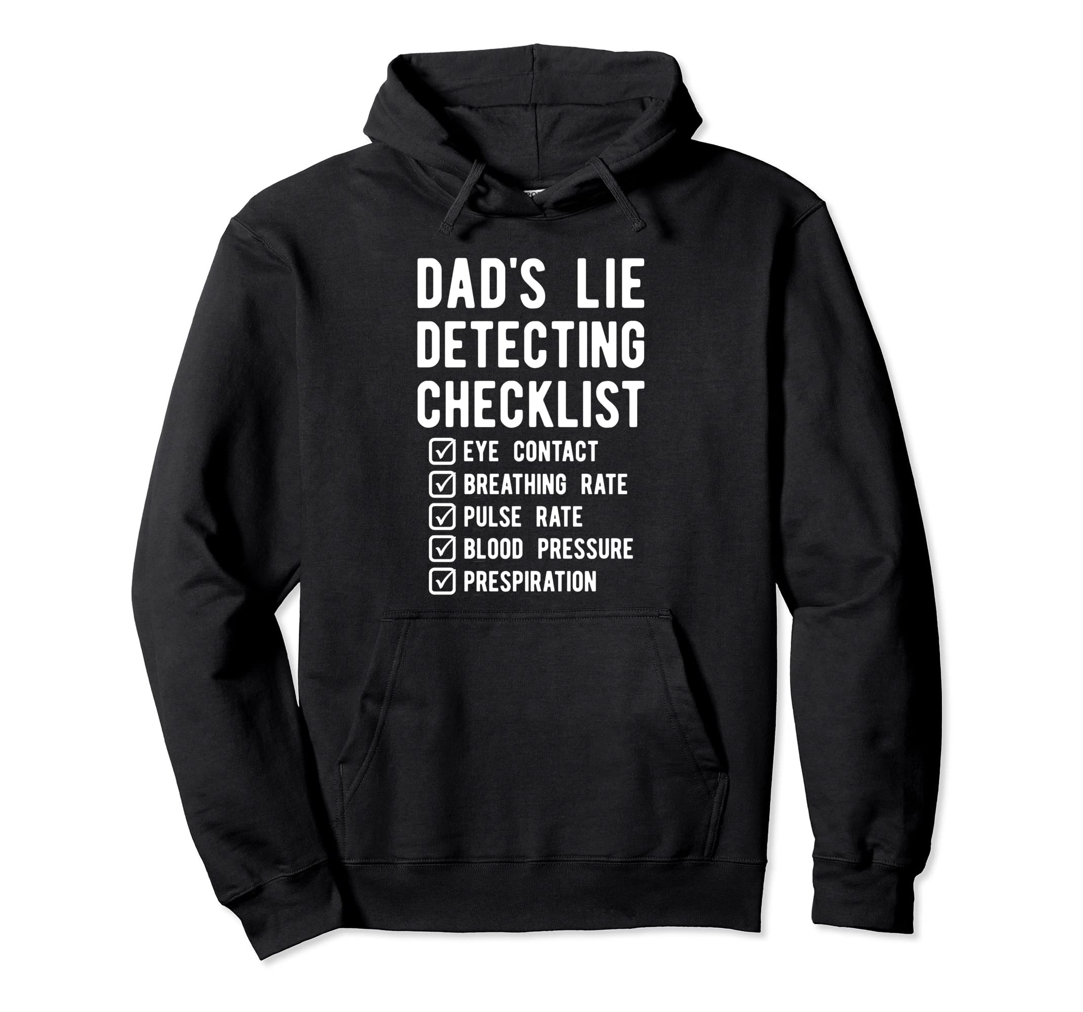 Amazon.com: Funny Dad Polygraph Hoodie, Lie Detector Father Gift: Clothing