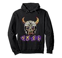 Skol Viking Shirts Hoodie Black