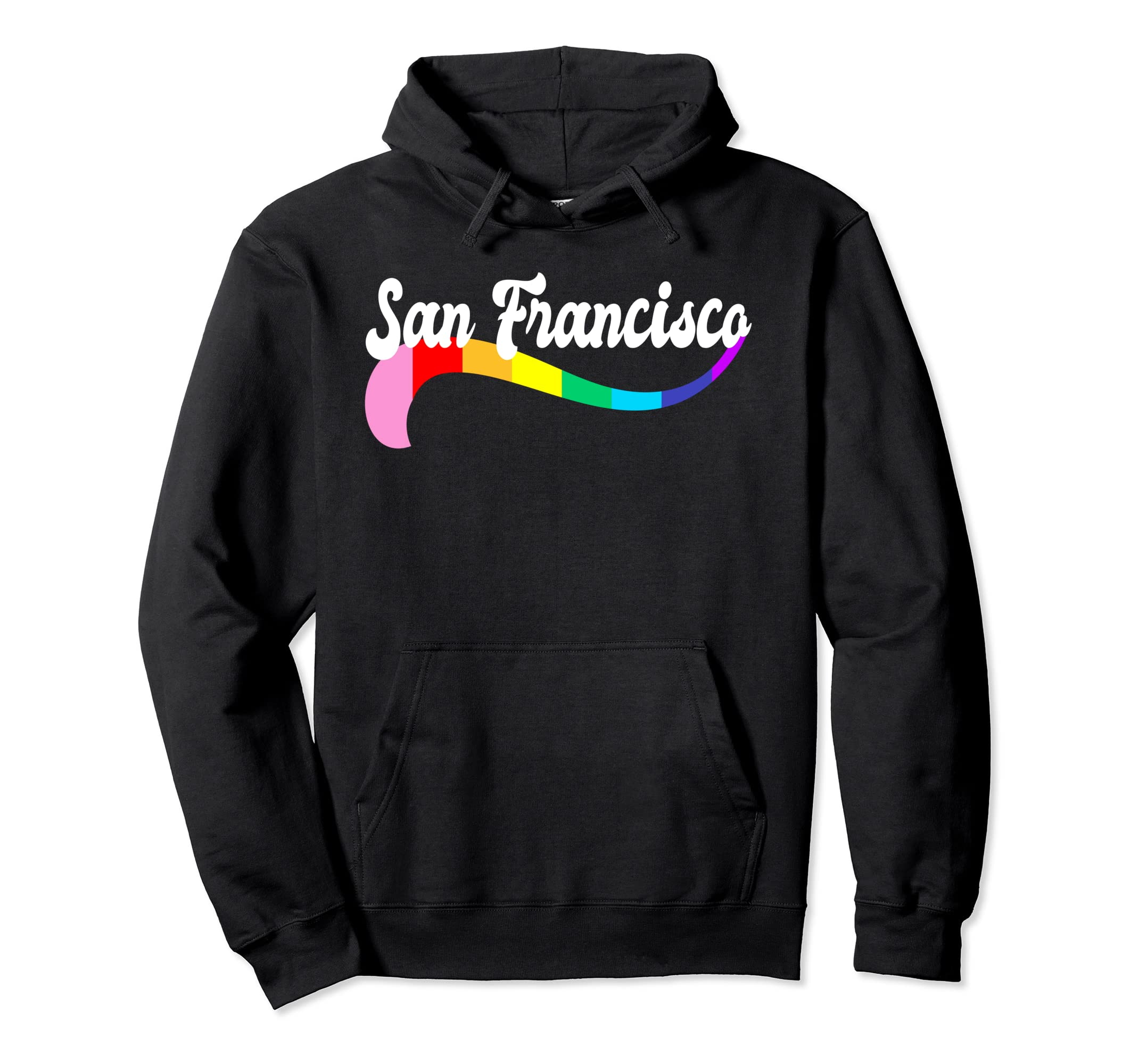166df36543bd Amazon.com  San Francisco Gay Pride Hoody Queer Shirts Proud Homos  Clothing
