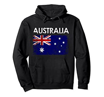 Image Unavailable. Image not available for. Color  Vintage Australia  Australian Flag Pride Hoodie 527cef086