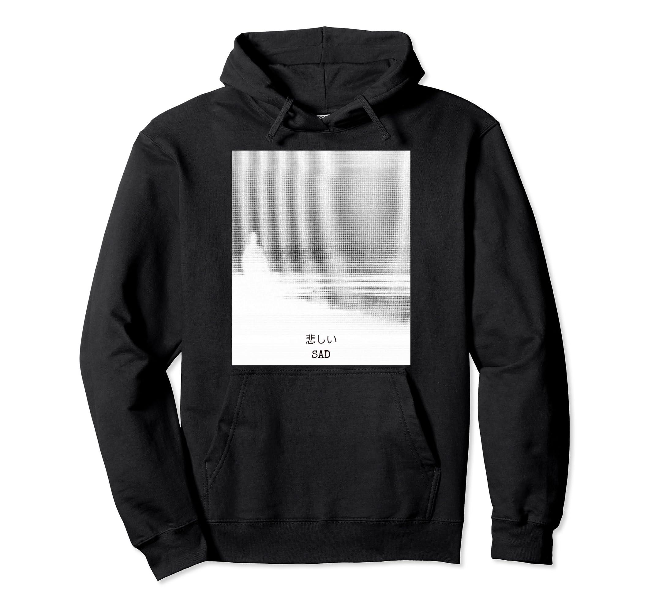 Amazon com: Sad Vaporwave Aesthetic Hoodie: Clothing