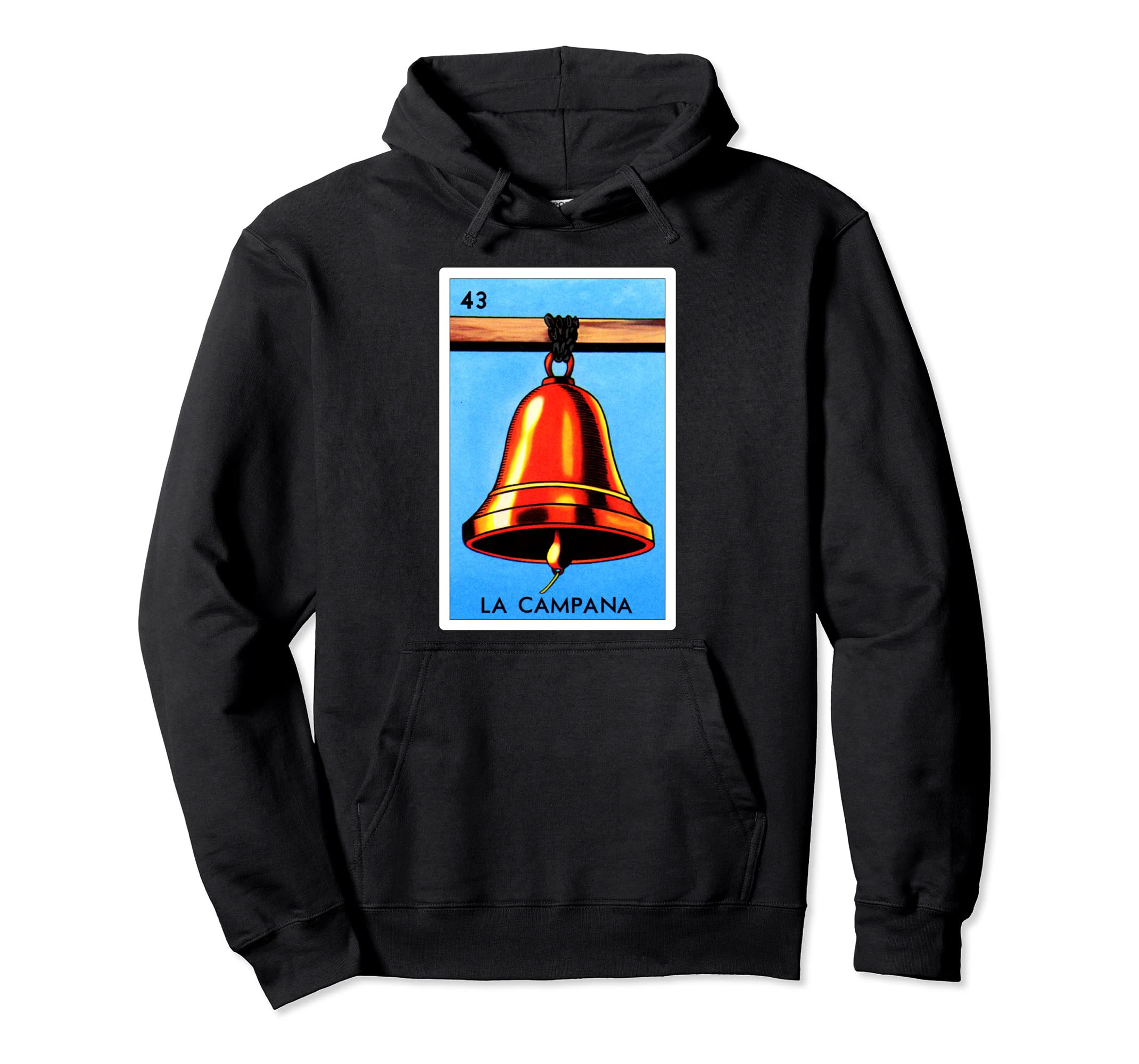 Amazon.com: Loteria Hoodies - La Campana Hoodie: Clothing