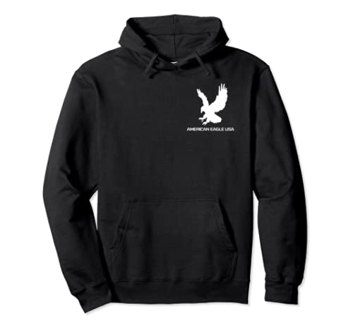 American Eagle Usa Great Gift #10 Pullover Hoodie