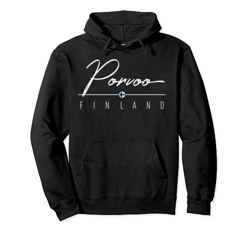 Porvoo Finland Pullover Hoodie