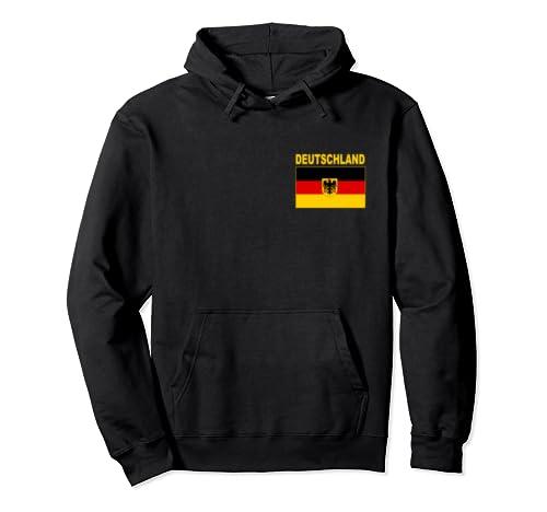 Germany Flag Pullover Hoodie Deutschland German Flags Gift