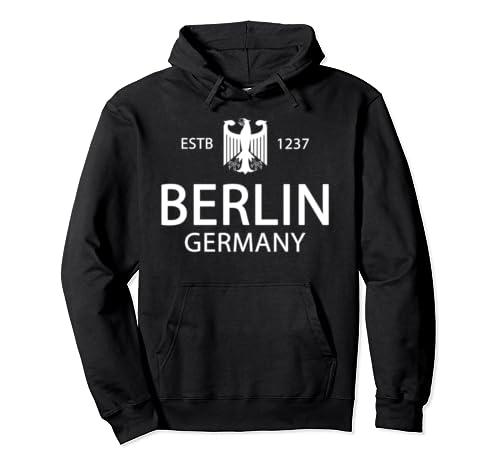 Germany Flag   Deutschland German History   Berlin Germany Pullover Hoodie