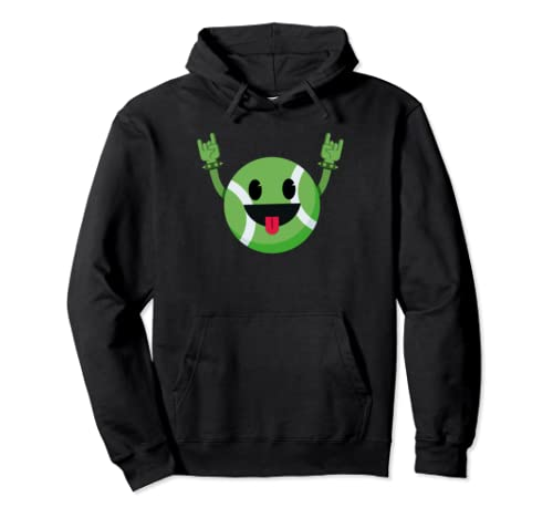 Dancing Tennis Ball Funny Game Player Dance Lover Humor Gift Pullover Hoodie