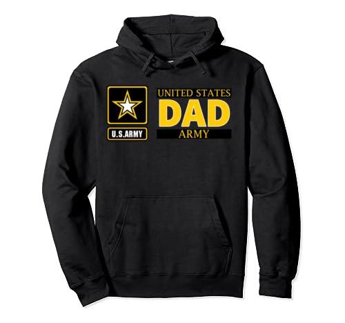 Veteran Proud  U.S Army Dad United States  Pullover Hoodie