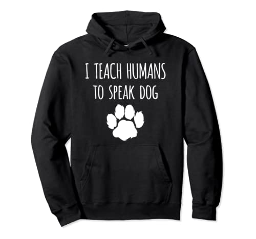 Funny Canine Training   Dog Trainer Gift Pullover Hoodie