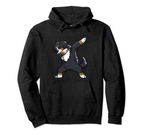 Funny Dabbing Bernese Mountain Dog Birthday Party Gift Pullover Hoodie