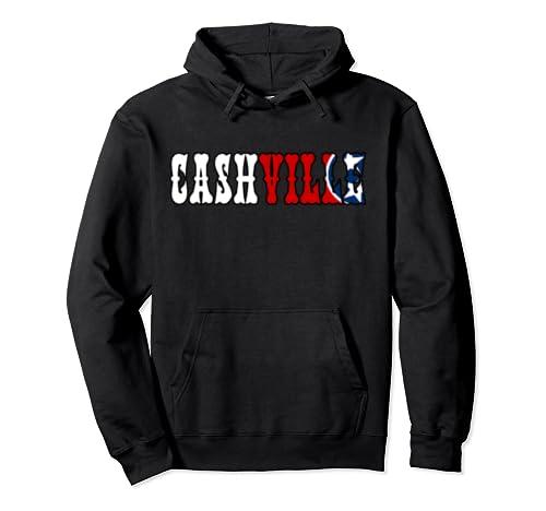 Cashville | Nashville Flag  Pullover Hoodie