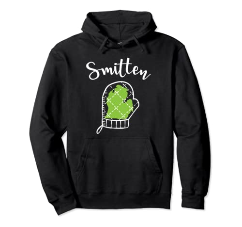 Smitten With The Mitten Michigan Pullover Hoodie