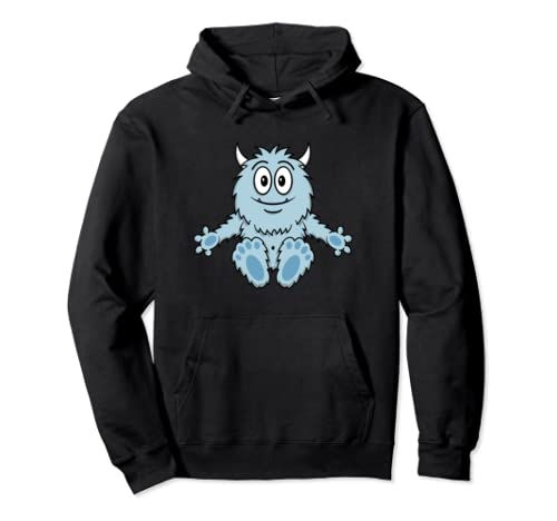 Cute Little Monster Hug Me Halloween Valentine's Day Gift Pullover Hoodie