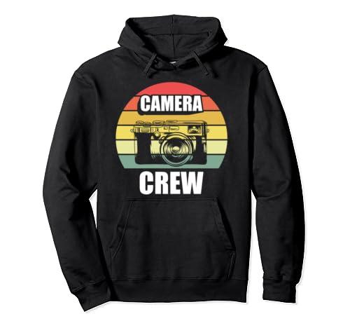 Camera Crew Shirt Camera Shirt Gift Photographer Photography Pullover Hoodie