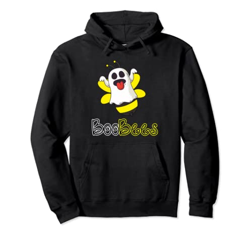 Boo Bee Funny Couples Halloween 2019 Pullover Hoodie