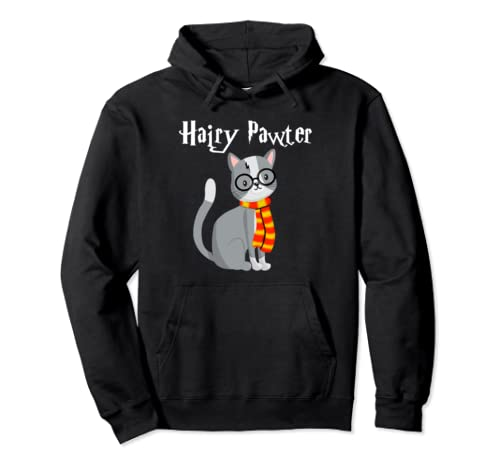 Hairy Pawter Potter Cats Cute Pullover Hoodie