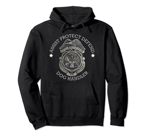 Army Military Police Working Dog Handler 31 K Badge Pullover Hoodie