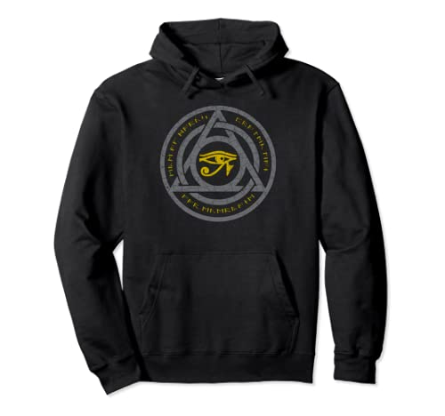 The Eye Of Horus Magical Protection Seal Fantasy  Pullover Hoodie