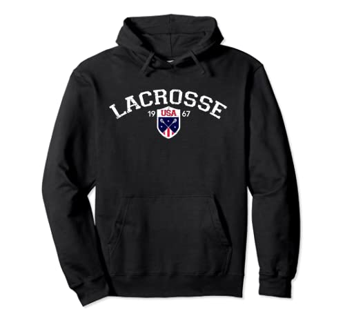 Vintage USA National Lacrosse Hoodie product image