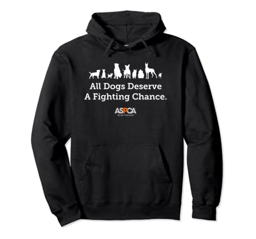 ASPCA All Dogs Deserve A Fighting Chance Hoodie