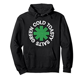 Green Cold Toasty Salts GCTS Red Hot Chili Peppers RHCP Hoodie