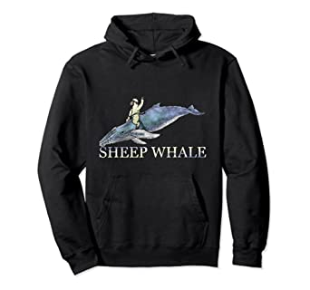 I hope you Sheep Whale Hoodie