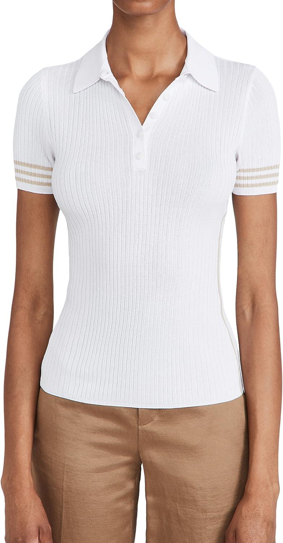 rag & bone Women's Peyton Polo Shirt