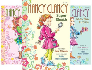Nancy Clancy Chapter Books series