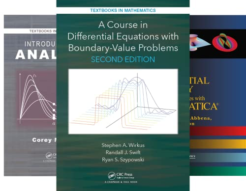 Textbooks in Mathematics (51-100) (50 Book Series)