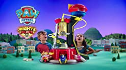 Paw Patrol Mighty Pups Tour Mighty Lookout Tower Hauteur 84 cm disponible