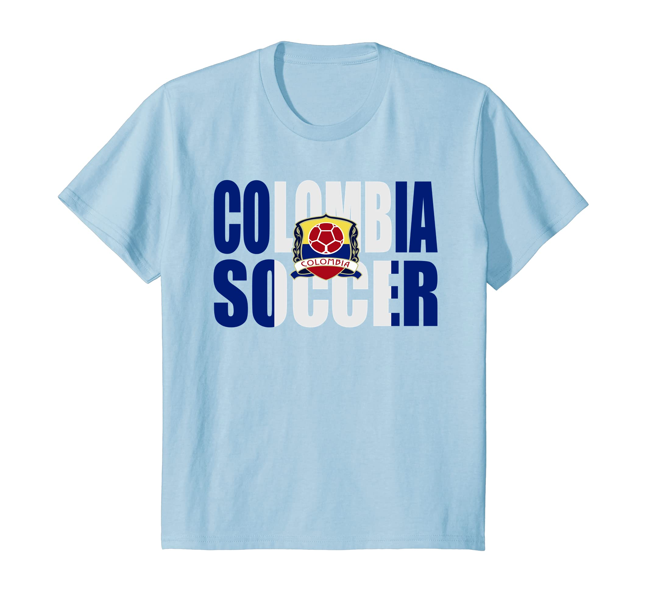 Amazon.com: Colombian Soccer Shirts - Amo el Futbol Colombiano Camiseta: Clothing