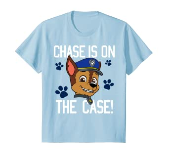 38b504ff Image Unavailable. Image not available for. Color: Kids PAW Patrol Chase Is  On The Case T-Shirt