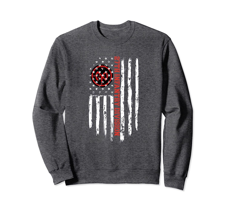 27th Infantry Division American Flag Sweatshirt