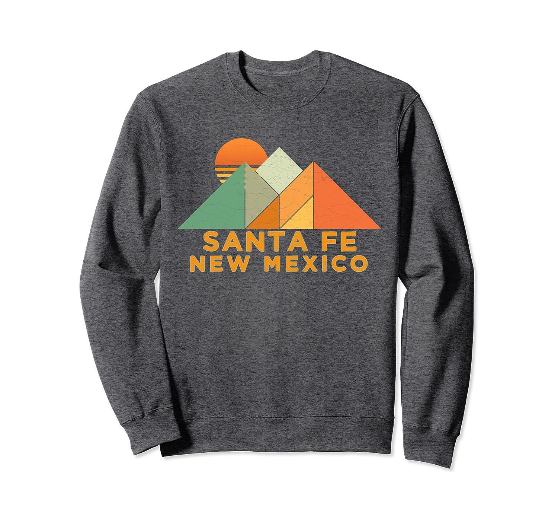 Amazon Com Retro Vintage Santa Fe Sweatshirt Clothing