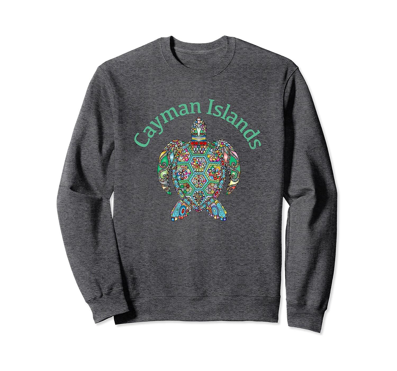 Cayman Islands Tribal Turtle Gift Sweatshirt