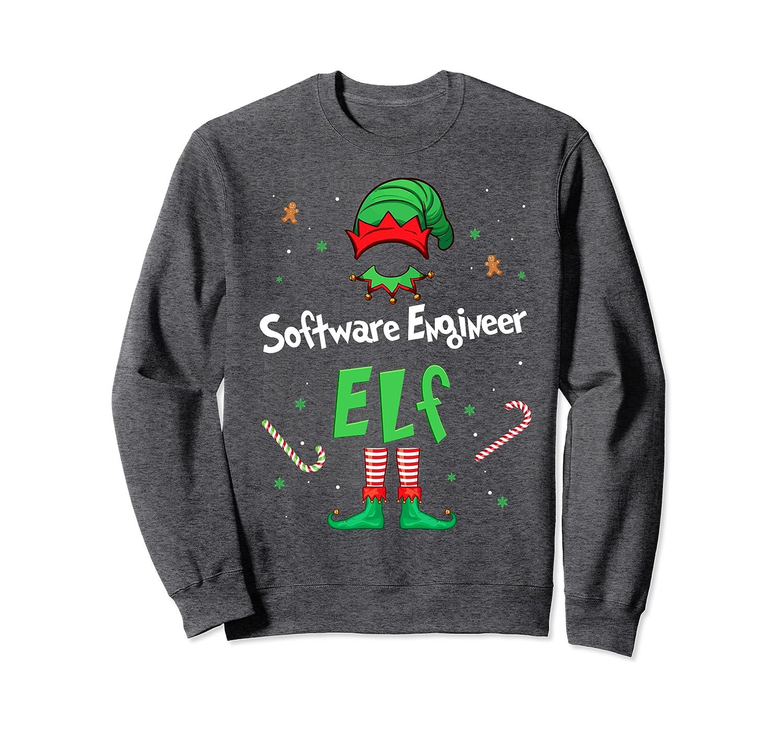 Software Engineer Elf Christmas Gift Idea Xmas Family Sweatshirt-Awarplus