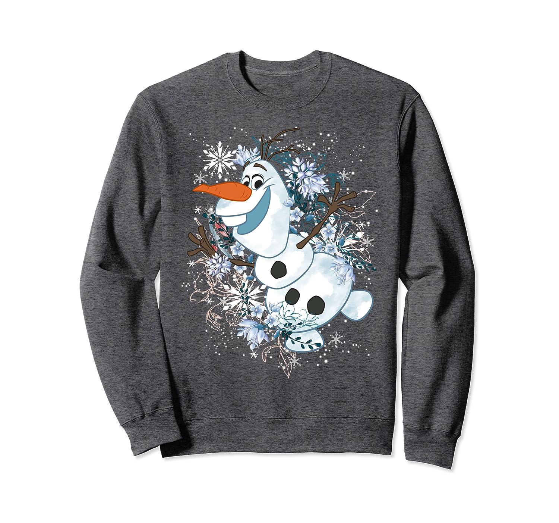 Disney Frozen Olaf Dancing In The Snowflakes Sweatshirt