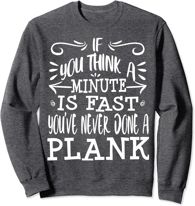 Comfy Sweatshirt Fitness Gym Christmas Gift Gym Crewneck Planks Then Dranks Peach Unisex Crewneck Sweatshirt Funny Workout Sweatshirt