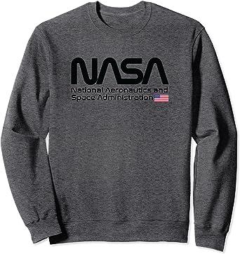 NASA Worm Logo Sweatshirt