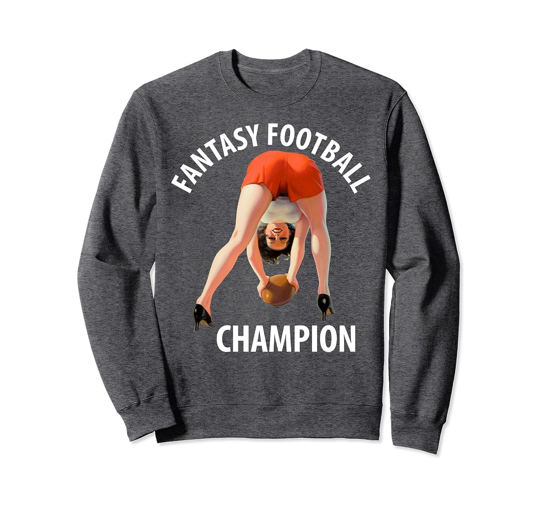 Retro Pin Up Art Official 2019 Fantasy Football Draft Party Sweatshirt