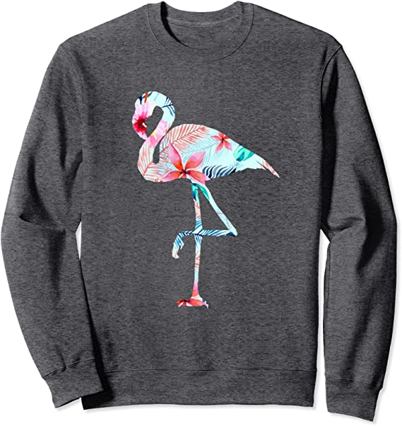 Flamingo Shirt Once More With Love Floral Flamingo Gifts Aesthetic Clothing Pink Flamingo Print Flamingo Art Mother Day Gift TU3027