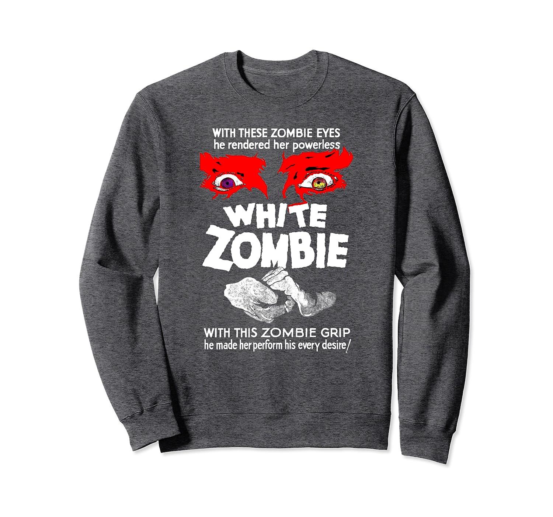 White Zombie Retro Classic Sci Fi Horror Movie Film Sweatshirt