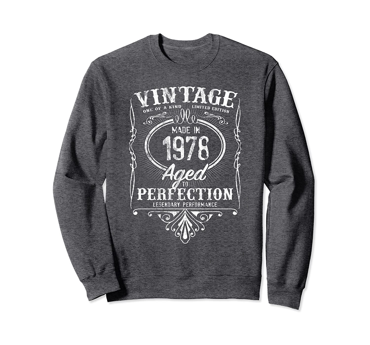 Vintage Made In 1978 Classic 41st Birthday Aged Perfection Sweatshirt