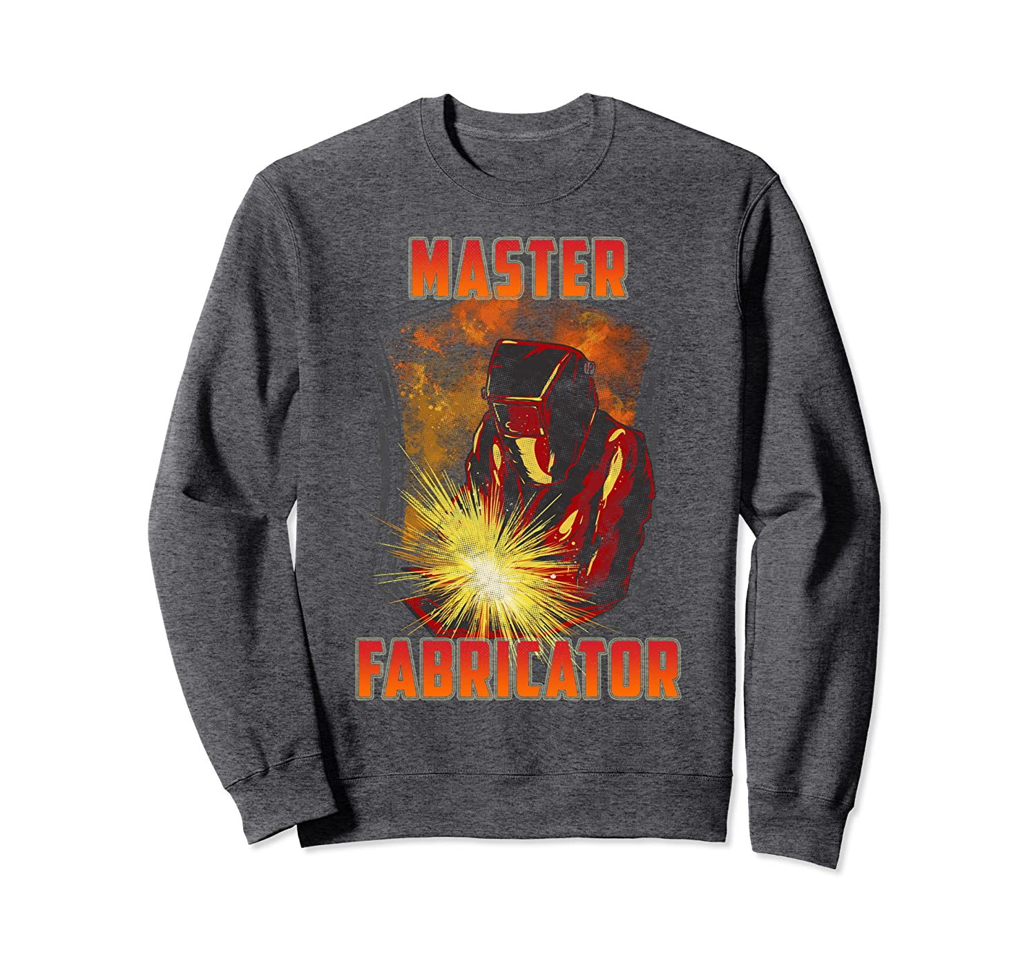 Master Fabricator Welding Metals Sewing Expert Sweatshirt