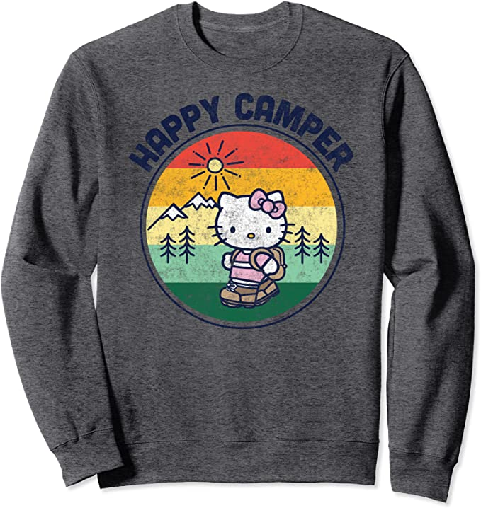 Hello Kitty Happy Camper Sweatshirt