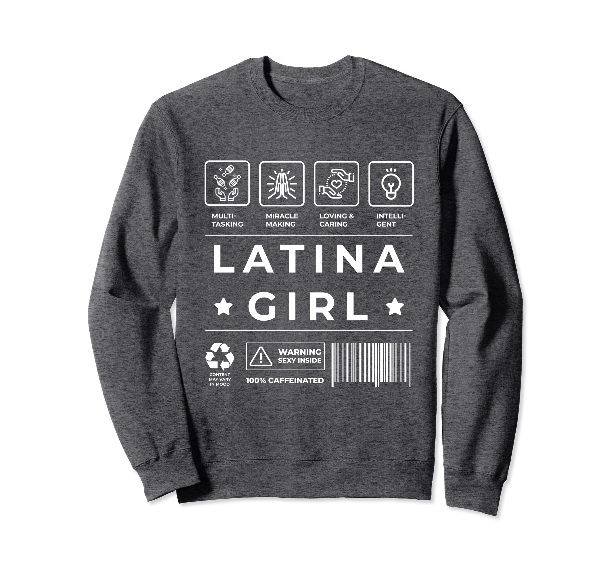 Amazon.com: Latina Power Sweatshirt for Women Sudadera Mujer Latina: Clothing