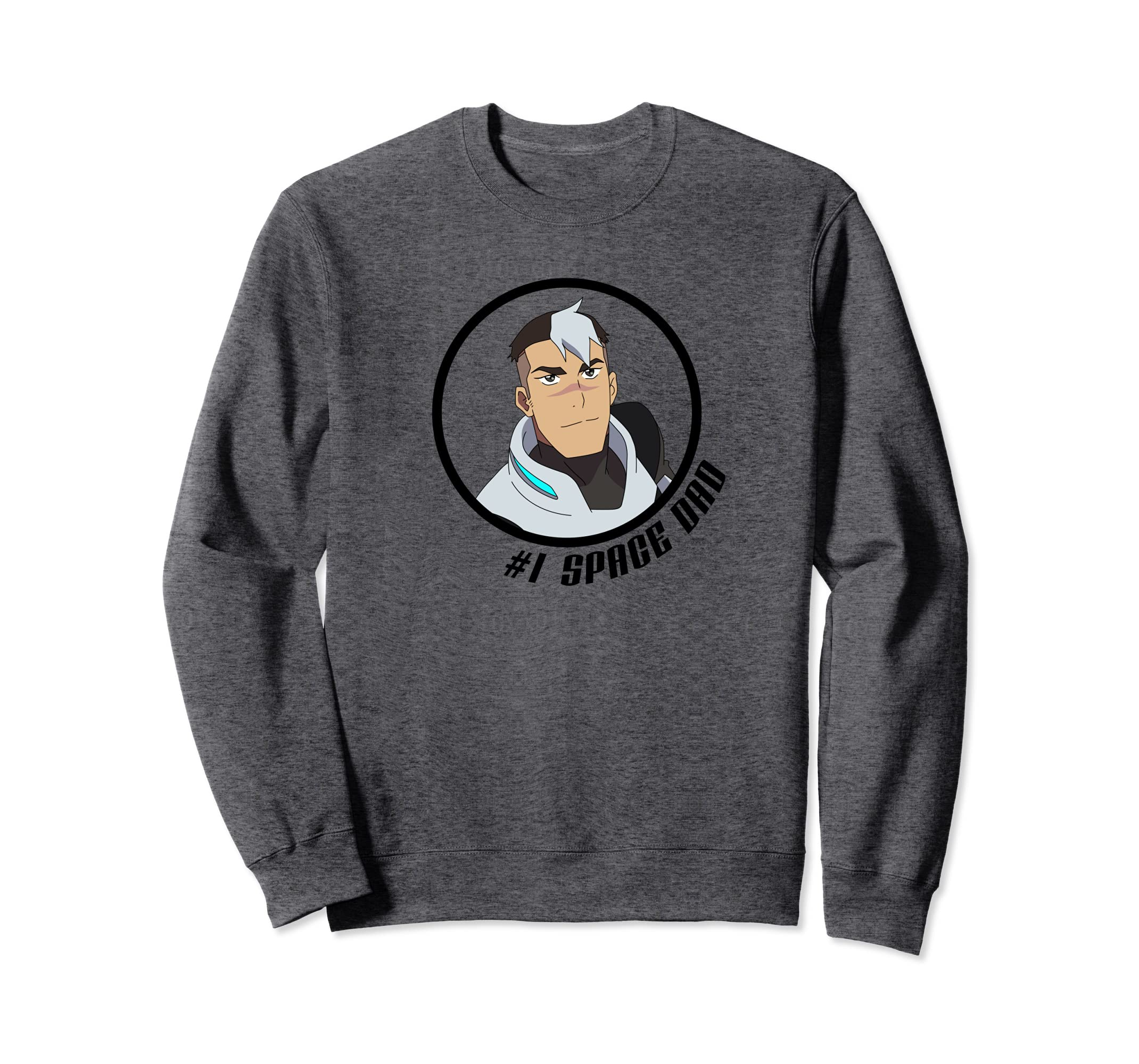 DreamWorks - Voltron Space Dad Shiro Character Crewneck-Rose