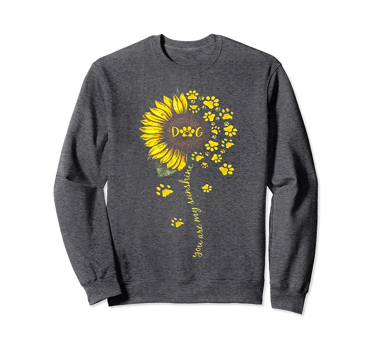 You Are My Sunshine Dog Tshirt-Sweatshirt-Dark Heather