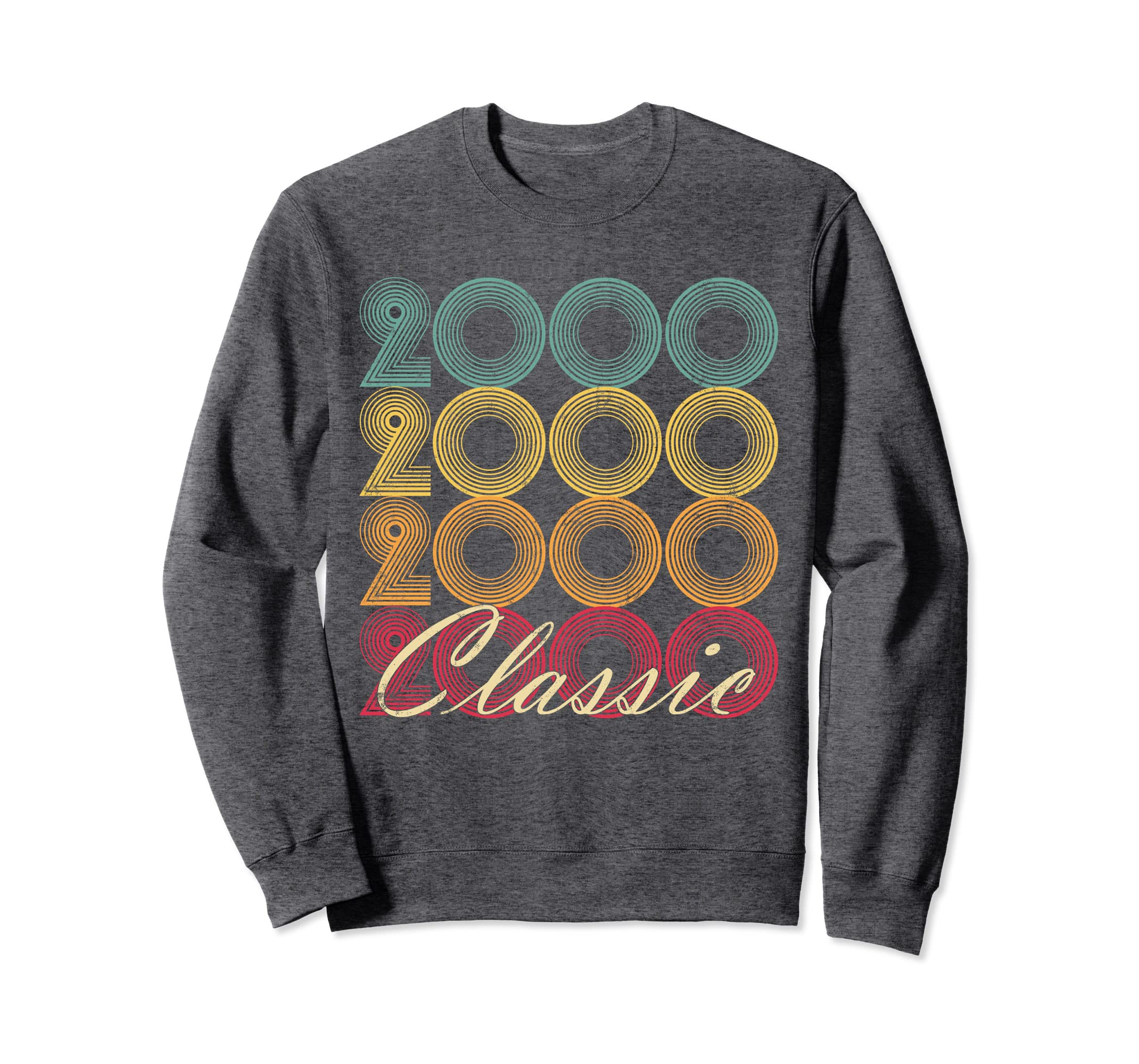 Classic 2000 18th Birthday Vintage Sweatshirt Retro 18 Gift-Protee